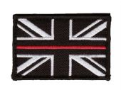 Union Jack Patch - Thin Red Line Fire Brigade
